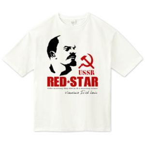LENIN ビッグシルエットTシャツ