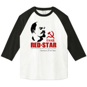 LENIN 七分袖Tシャツ