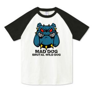 MAD DOG ラグランTシャツ