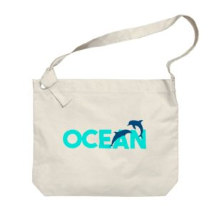 OCEAN ビッグショルダーバッグ