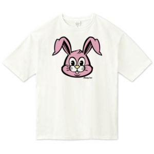 BUNNY ビッグシルエットTシャツ
