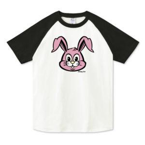 BUNNY ラグランTシャツ