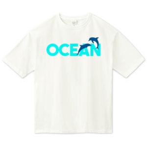 OCEAN ビッグシルエットTシャツ