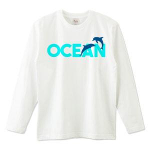 OCEAN 長袖Tシャツ