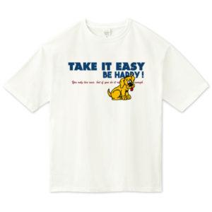 TAKE IT EASY ビッグシルエットTシャツ