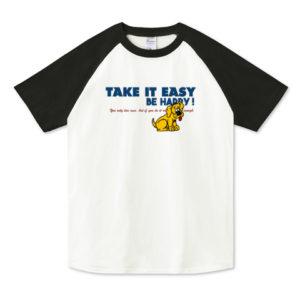 TAKE IT EASY ラグランTシャツ