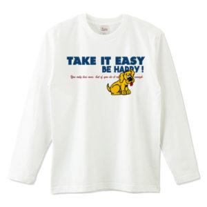 TAKE IT EASY 長袖Tシャツ