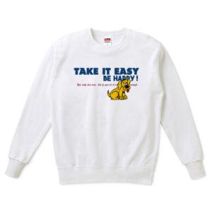 TAKE IT EASY スウェット(トレーナー)