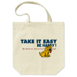 TAKE IT EASY トートバッグ