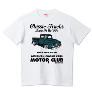 OLD TRUCK Tシャツ