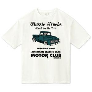OLD TRUCK ビッグシルエットTシャツ