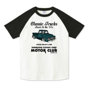 OLD TRUCK ラグランTシャツ