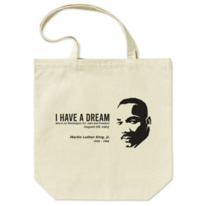 MARTIN LUTHER KING  トートバッグ