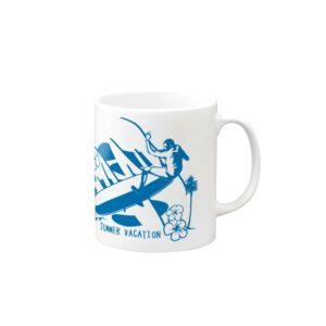 LONG BORDER マグカップ