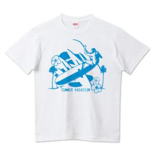 LONG BORDER Tシャツ