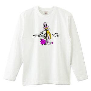 HULA GIRL 長袖Tシャツ