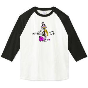 HULA GIRL 七分袖Tシャツ