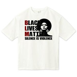 BLM ビッグシルエットTシャツ