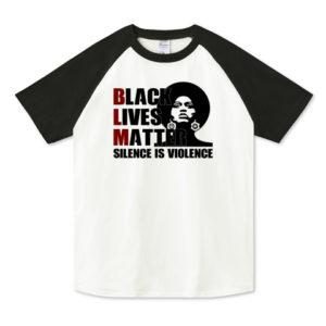 BLM ラグランTシャツ