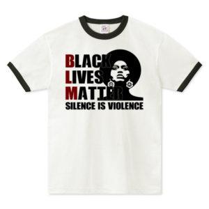 BLM リンガーTシャツ