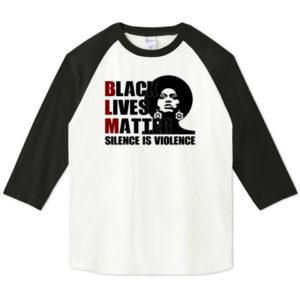 BLM 七分袖Tシャツ