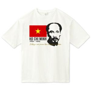 HO CHI MINH ビッグシルエットTシャツ