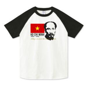 HO CHI MINH ラグランTシャツ